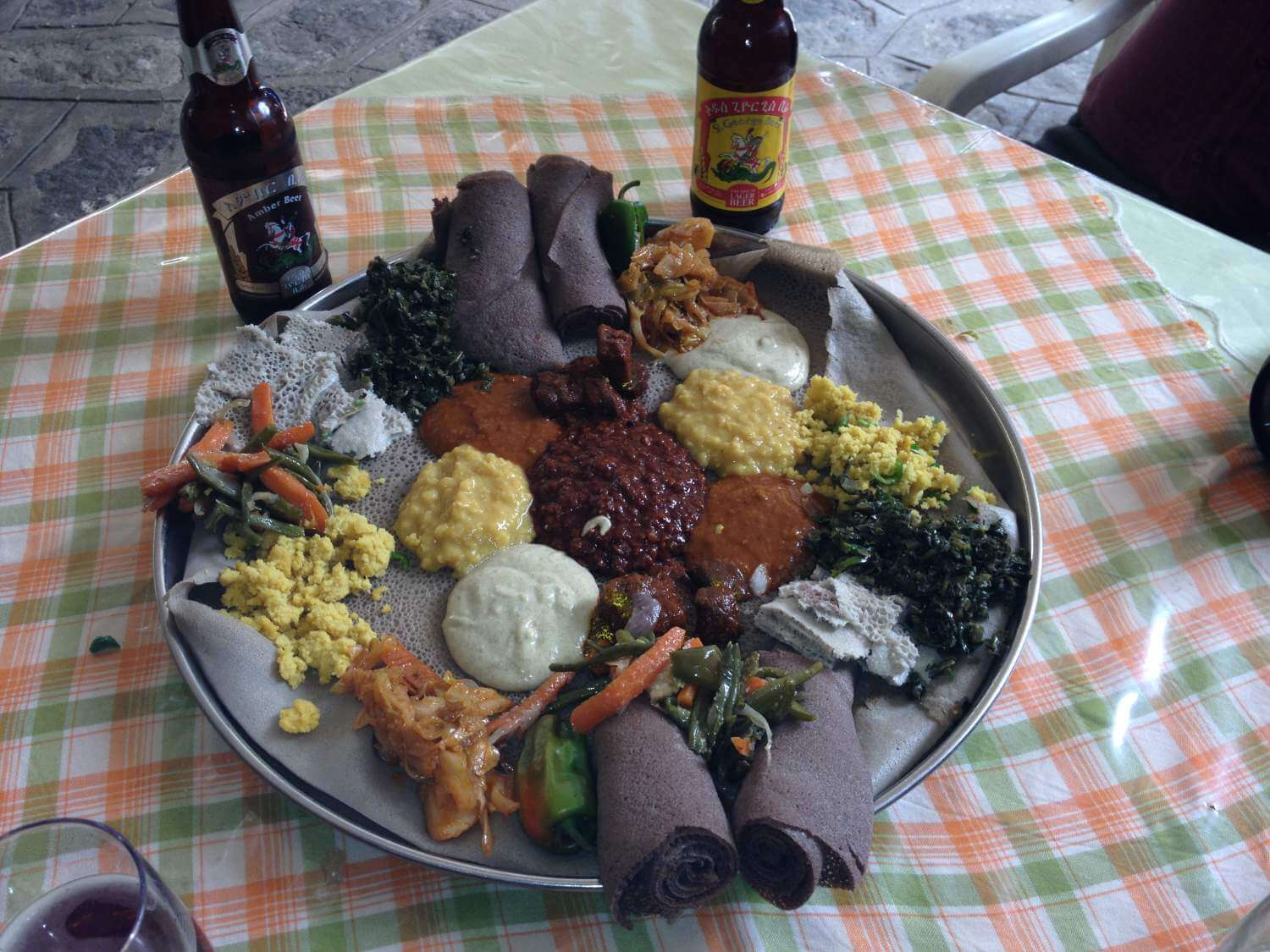 Fasting selection with Ethiopian beer