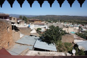 Harar city in Ethiopia