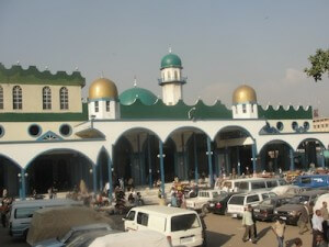 The Grand Anwar Mosque in Merkato, Addis Ababa