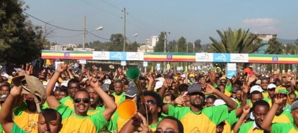 Great Ethiopian Run (curtesy of  GER http://ethiopianrun.org/)