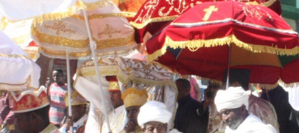 A Tabot  being paraded