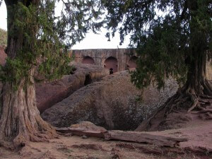 The joint churches of Gabriel & Rufael in Lalibela