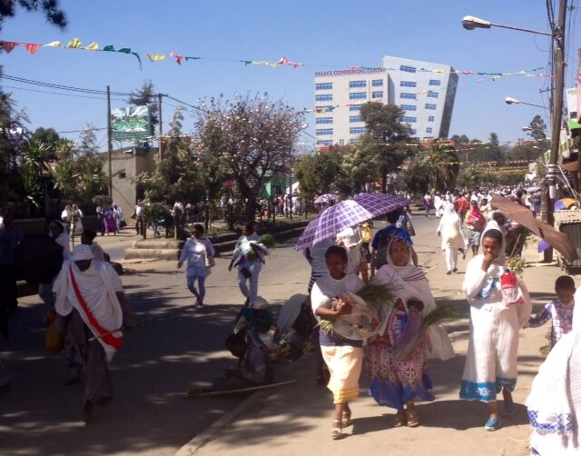 St Gabriel's day in Addis Ababa