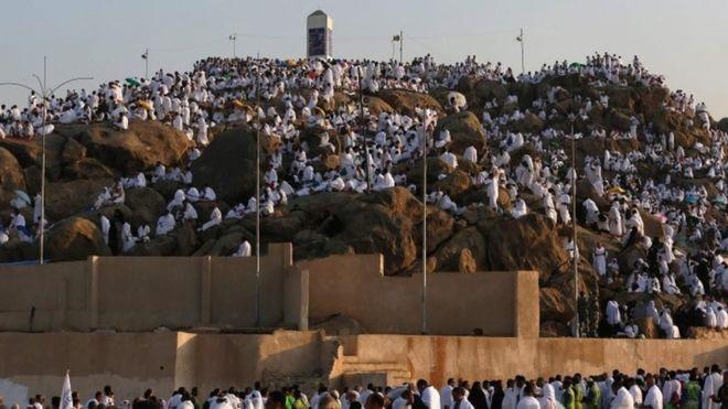 Eid Al Aha, Mnt Arafat AFP Image
