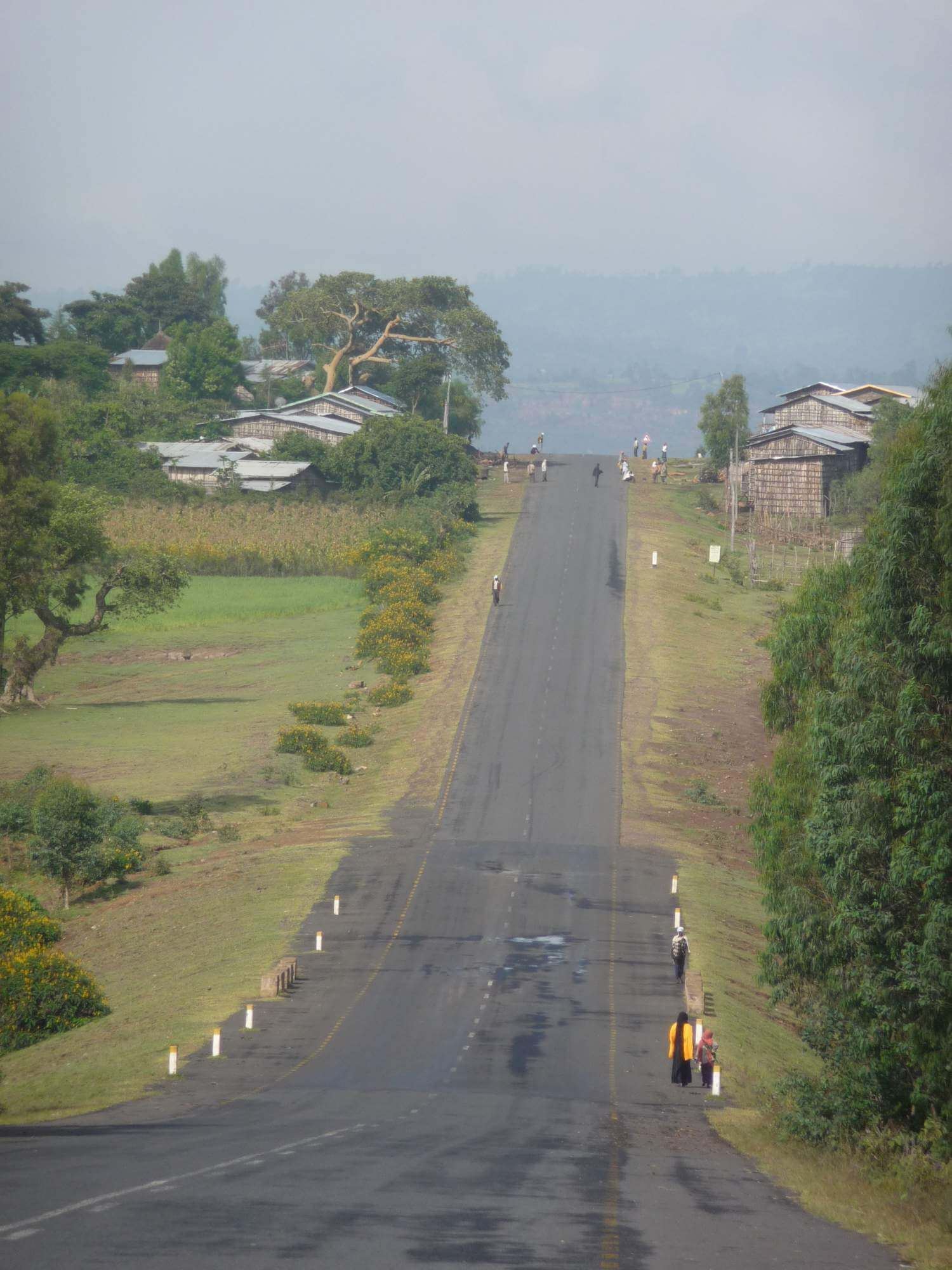 Empty roads in Ethiopia (Photo Andy Bottomer)