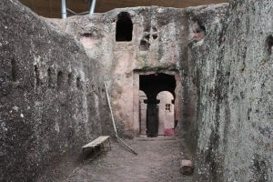 Lalibela - a subterranean labyrinth of passageways