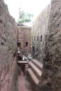 Michael church in Lalibela