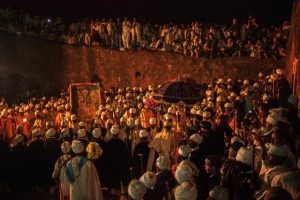Gena ceremony in Lalibela