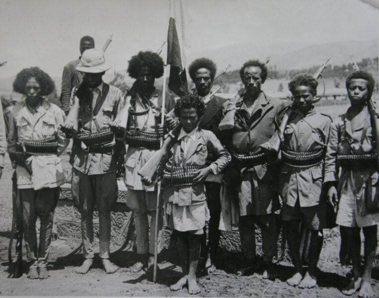Ethiopian Arbegnoch -Patriot Troops